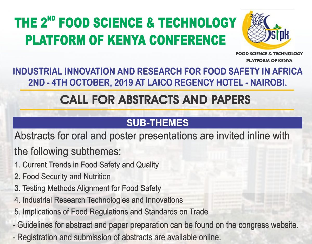 Food Science and Technology of Kenya